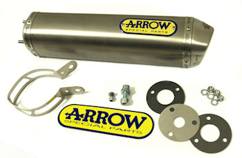 Arrow Pipes Exhaust & Image Is Loading MUFFLER-EXHAUST-PIPE